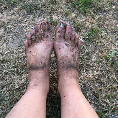 Slate feet